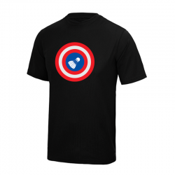 T-Shirt Noir CIBLINGTON...