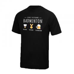T-Shirt Noir Esprit vétéran