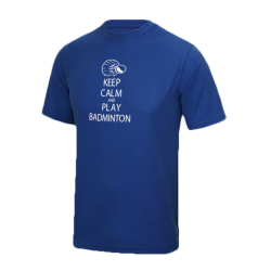T-shirt bleu KEEP CALM AND...