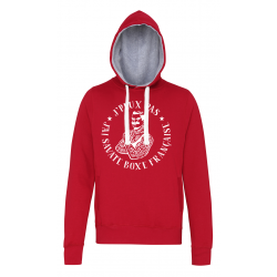 SWEAT JPPJ Savate B.F rouge