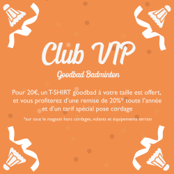 CLUB VIP Inscription