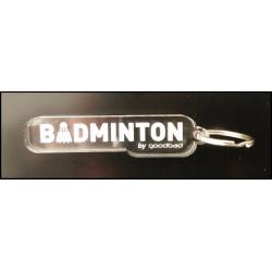 PORTE-CLE Goodbad BADMINTON...