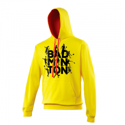 SWEAT JAUNE SILHOUETTES