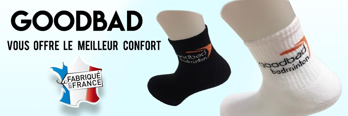 chaussettes goodbad de fabrication françaises